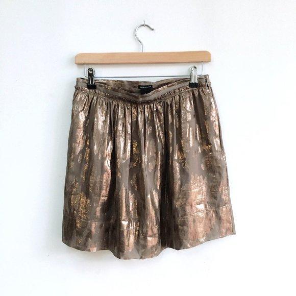 Club Monaco Metallic Mini Skirt - size 4